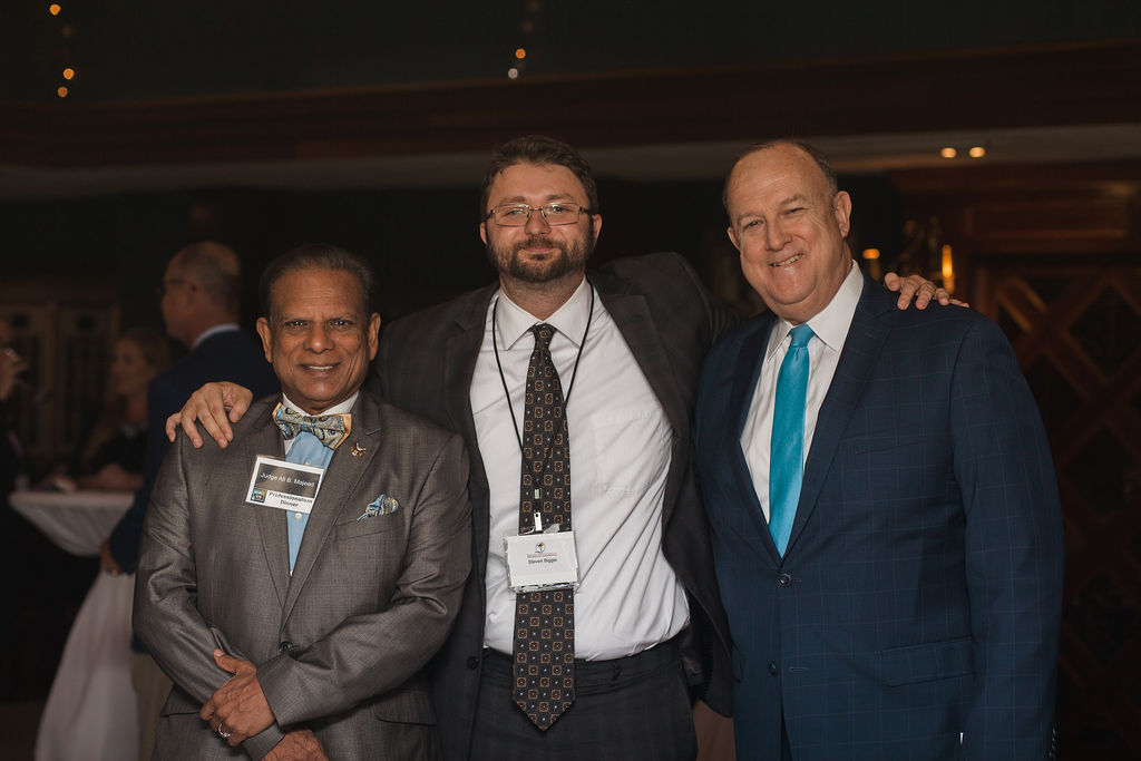 Hon. Ali Majeed, Steven Biggie, Doug Beam